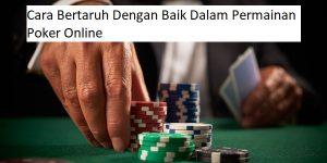 bertaruh dalam poker online